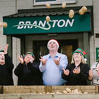 Branston Potatoes Scotland at Christmas
