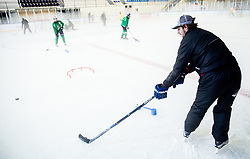 Anze Kopitar during practice session of Hockey Academy of Anze Kopitar and Tomaz Razingar, on July 6, 2017 in Ice Hockey arena Bled, Slovenia. Photo by Vid Ponikvar / Sportida
