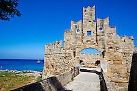 Grece, Dodecanese, Rhodes, ville de Rhodes, Unesco world heritage, la forteresse // Greece, Dodecanese, Rhodes island, Rhodes city, Unesco word heritage, Fortress