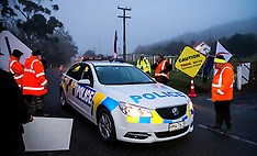 Northland-Protestors picket Australian mining at Puhipuhi