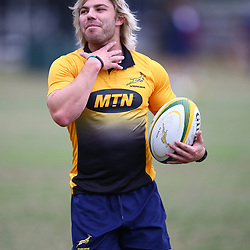 Faf de Klerk during the South African Springboks field training session at Jonsson Kings<br /> Park ,Durban,South Africa.14,08,2018 Photo by (Steve Haag)