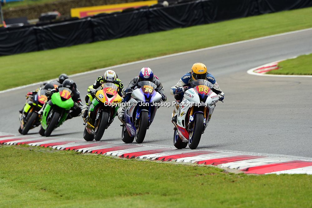 #80 Dan Stamper Barwell Allied Racing Yamaha Pirelli National superstock 600 Championship