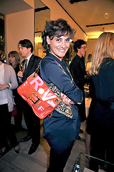 INES DE LA FRESSANGE at a reception in aid of Children in Crisis held at the Roger Vivier store, 188 Sloane Street, London on 19th March 2009.