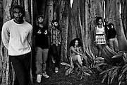 Freedom Hall portraits in Fort Myers, Fla. James Klynn, Passion Ward, Josh Giha, Rossini Morrisma, Maeva Kem, Jeremy Evans