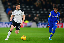 DAVID NUGENT DERBY COUNTY, Derby County v Leeds United, Championship League Pride Park Tuesday 21st February 2018, Score 2-2, :Photo Mike Capps