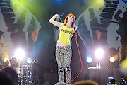 Paramore performing at The Bamboozle in East Rutherford, New Jersey. May 1, 2010. Copyright © 2010 Matt Eisman. All Rights Reserved.