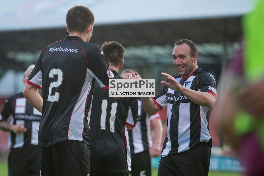 Dunfermline Athletic v Arbroath Betfred League Cup East End Park 19 July 2016<br />