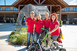 ZEIBIG Steffen (GER), MISPELKAMP Regine (GER), PHILIPP Elke (GER), TRABERT Dr. Angelika (GER)<br /> Tryon - FEI World Equestrian Games™ 2018<br /> Deutsche Para-Dressur Teamfoto<br /> September 2018<br /> © www.sportfotos-lafrentz.de/Stefan Lafrentz