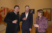 Alf Lohr, David Mach and Nicola Lohr, Royal Academicians in China: 2003-2005. Royal academy. 11  January 2006. ONE TIME USE ONLY - DO NOT ARCHIVE  © Copyright Photograph by Dafydd Jones 66 Stockwell Park Rd. London SW9 0DA Tel 020 7733 0108 www.dafjones.com