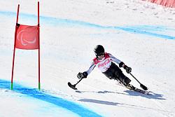 FORSTER Anna-Lena LW12-1 GER competing in ParaSkiAlpin, Para Alpine Skiing, Super G at PyeongChang2018 Winter Paralympic Games, South Korea.