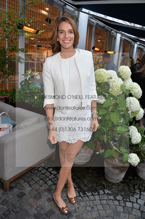 TV presenter Cara Robinson at the Aspall Tennis Classic Players Party hosted by Aspall and Taylor Morris Eyewear at Bluebird, 350 King's Road, Chelsea, London England. 28 June 2017.<br /> Photo by Dominic O'Neill/SilverHub 0203 174 1069/ 07711972644 - Editors@silverhubmedia.com