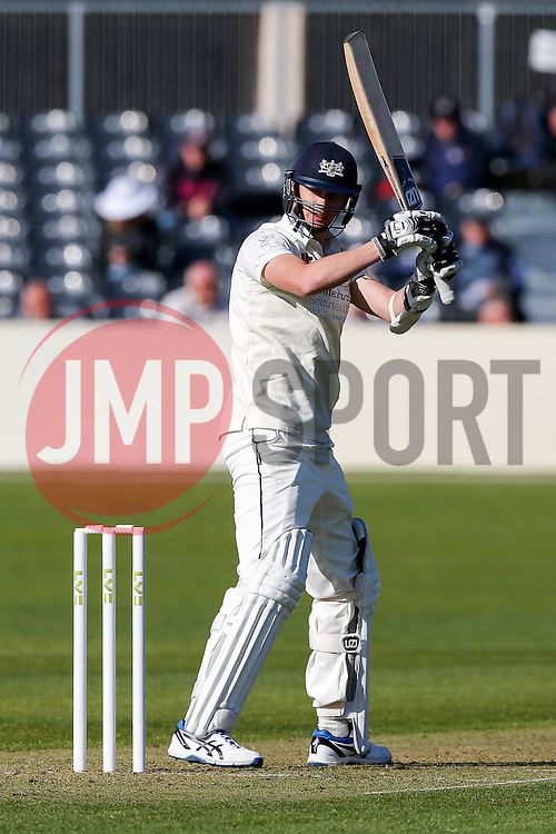 Craig Miles of Gloucestershire - Photo mandatory by-line: Rogan Thomson/JMP - 07966 386802 - 26/04/2015 - SPORT - CRICKET - Bristol, England - Bristol County Ground - Gloucestershire v Derbyshire — Day 1 - LV= County Championship Division Two.