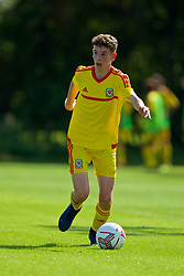 WREXHAM, WALES - Monday, July 22, 2019: Sebastian Watkins of South during the Welsh Football Trust Cymru Cup 2019 at Colliers Park. (Pic by Paul Greenwood/Propaganda)