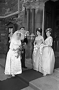 "19/09/1963<br /> 09/19/1963<br /> 19 September 1963<br /> Wedding of Colm A. O'Rahilly, A.C.A., ""Collin"", Newtownpark Avenue, Blackrock, Dublin and Miss Mary Corcoran, 29 Prussia Street, North Circular Road, Dublin at the Church of the Holy Family, Aughrim Street, Stoneybatter, Dublin."