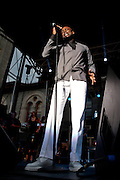 Kem performs during Artscape in Baltimore, MD on Friday, July 19, 2013.