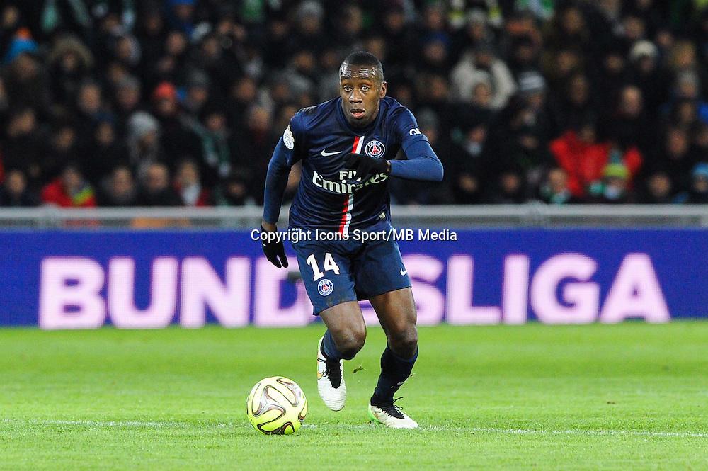 Blaise MATUIDI - 25.01.2015 - Saint Etienne / PSG - 22eme journee de Ligue1<br /> Photo : Jean Paul Thomas / Icon Sport