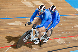 BARAKAS Athanasios Pilot:  TROULINOS Konstantinos, GRE, Tandem 4km Pursuit Qualifiers , 2015 UCI Para-Cycling Track World Championships, Apeldoorn, Netherlands