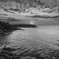 B&amp;W New England seascape photography of the iconic Maine Acadia National Park shoreline. This national park is located on Mount Desert Island.<br /> <br /> This New England Bblack and white fine art photography image is available as museum quality photography prints, canvas prints, acrylic prints or metal prints. Fine art prints may be framed and matted to the individual liking and decorating needs:<br /> <br /> https://juergen-roth.pixels.com/featured/maine-is-gorgeous-juergen-roth.html<br /> <br /> Good light and happy photo making!<br /> <br /> My best,<br /> <br /> Juergen<br /> Prints: http://www.rothgalleries.com<br /> Photo Blog: http://whereintheworldisjuergen.blogspot.com<br /> Instagram: https://www.instagram.com/rothgalleries<br /> Twitter: https://twitter.com/naturefineart<br /> Facebook: https://www.facebook.com/naturefineart