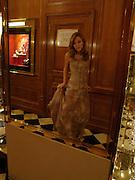 Astrid van Weddingen, Crillon 2004 Debutante Ball. Crillon Hotel. Paris. 26 November 2004. ONE TIME USE ONLY - DO NOT ARCHIVE  © Copyright Photograph by Dafydd Jones 66 Stockwell Park Rd. London SW9 0DA Tel 020 7733 0108 www.dafjones.com