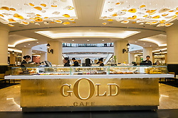 Gold Cafe at  Mall of the Emirates shopping centre in Dubai United Arab Emirates