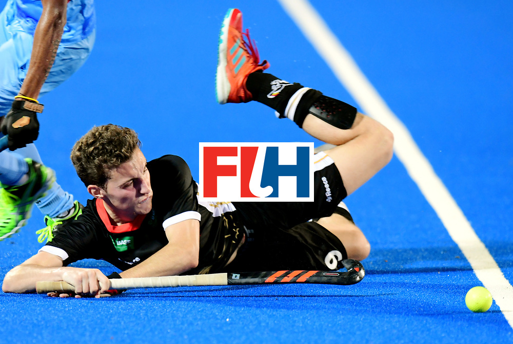 Odisha Men's Hockey World League Final Bhubaneswar 2017<br /> Match id:21<br /> India v Germany<br /> Foto: Johannes Grosse (Ger) <br /> COPYRIGHT WORLDSPORTPICS FRANK UIJLENBROEK