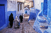 The berber town of Chefchouen, or Chouen for short, lies nestled in the Rif mountains along Morocco's northern region. Built by the Moors and twinned with Albarracin in Spain its streets are painted mostly blue.