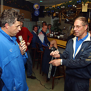 Huldiging Piet Knop ivm deelname 50ste oliebollentoernooi TTV Huizen