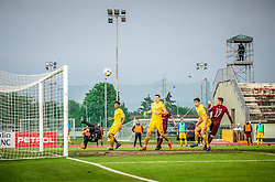 Klemen Mihelak of Domzale during football match between NK Triglav Kranj and NK Domzale in 35th Round of Prva liga Telekom Slovenije 2018/19, on May 22nd, 2019, in Sports park Kranj, Slovenia. Photo by Vid Ponikvar / Sportida