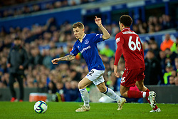 LIVERPOOL, ENGLAND - Sunday, March 3, 2019: Everton's Lucas Digne during the FA Premier League match between Everton FC and Liverpool FC, the 233rd Merseyside Derby, at Goodison Park. (Pic by Laura Malkin/Propaganda)
