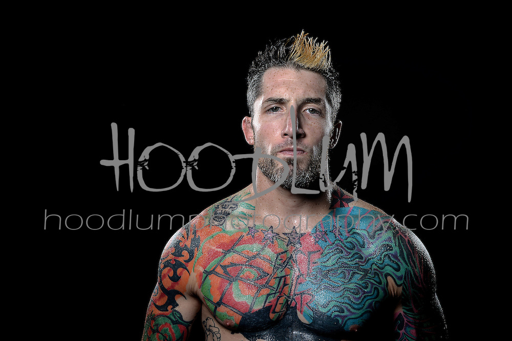 Portrait of MMA Muay Thai Fighter Steven Simmons