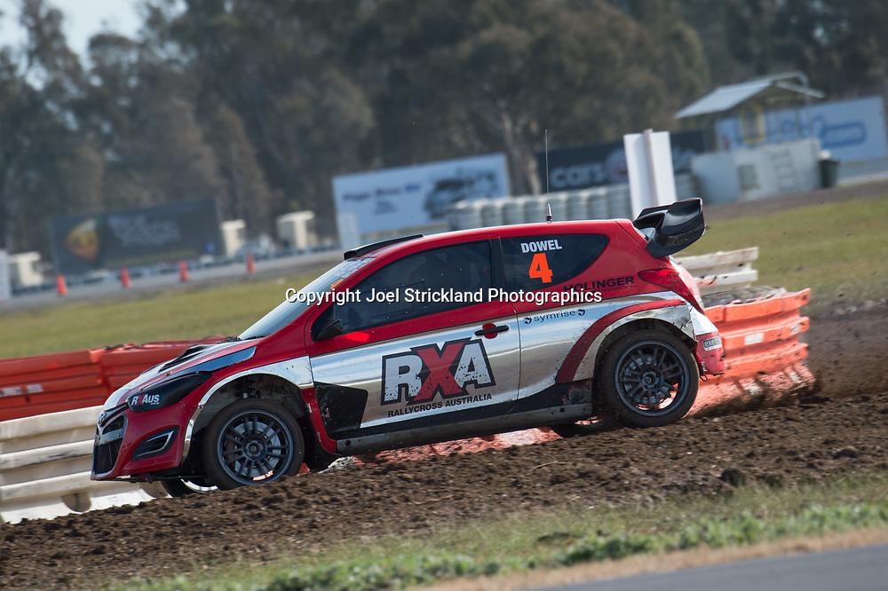 Justin Dowel - Hyundai i20 RX - Rallycross Australia - Winton Raceway - 16th July 2017