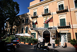 ITALY SICILY PALERMO 29APR08 - Facade of the Grand Excelsior Hotel, Palermo, Sicily.. . jre/Photo by Jiri Rezac. . © Jiri Rezac 2008. . Contact: +44 (0) 7050 110 417. Mobile:  +44 (0) 7801 337 683. Office:  +44 (0) 20 8968 9635. . Email:   jiri@jirirezac.com. Web:    www.jirirezac.com. . © All images Jiri Rezac 2007 - All rights reserved.