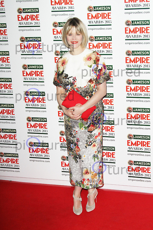 Edith Bowman, Jameson Empire Film Awards, Grosvenor House Hotel, London UK, 24 March 2013, (Photo by Richard Goldschmidt)