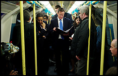 Cameron on Train / Tube