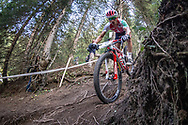 during the Team Relay  at the 2018 UCI MTB World Championships - Lenzerheide, Switzerland