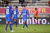 Deception - Gregoire PUEL - 19.12.2014 - Lens / Nice - 19e journee Ligue 1<br />Photo : Aurelien Meunier / Icon Sport