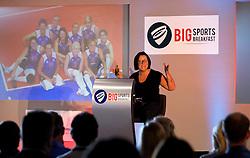 Great Britain's Sitting Volleyball captain Martine Wright MBE speaks at the Bristol Sport Big Breakfast - Mandatory by-line: Robbie Stephenson/JMP - 26/08/2016 - PR - Ashton Gate - Bristol, England - Bristol Sport Big Breakfast - Martine Wright MBE