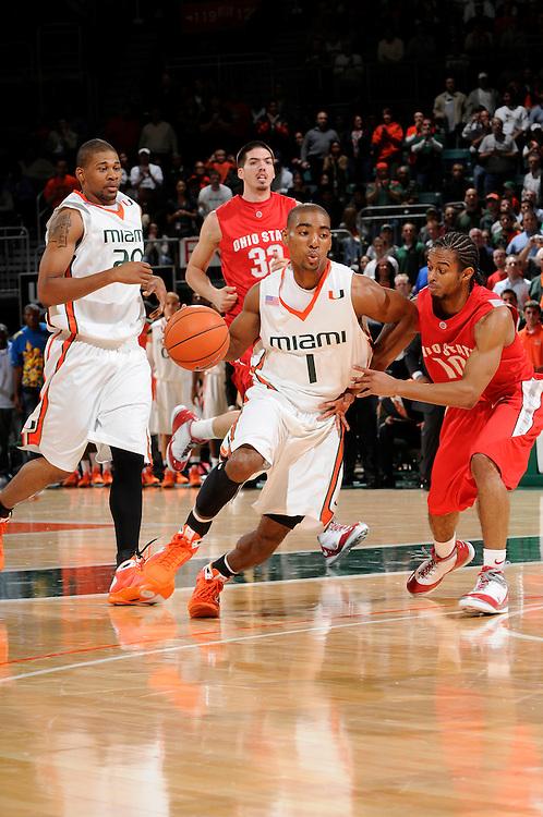 2009 University of Miami Men's Basketball vs Ohio State