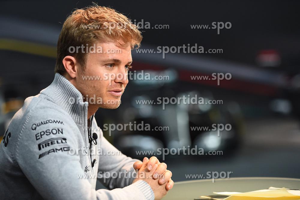 12.03.2016, Mercedes, Stuttgart, GER, FIA, Formel 1, Mercedes Motorsport Kickoff 2016, im Bild Nico Rosberg (GER) Mercedes AMG F1 // during the Mercedes Motorsport Kickoff 2016 at the Mercedes in Stuttgart, Germany on 2016/03/12. EXPA Pictures &copy; 2016, PhotoCredit: EXPA/ Sutton Images/ Andre/<br /> <br /> *****ATTENTION - for AUT, SLO, CRO, SRB, BIH, MAZ only*****