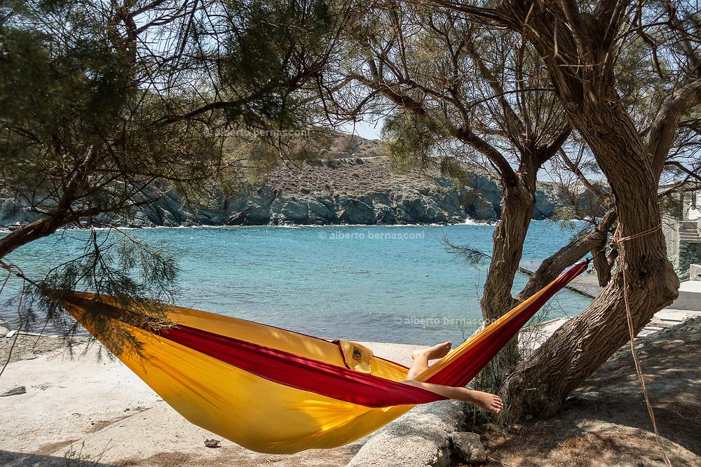 Greece, Kyklades, Folegrandos, Ag. Georgios beach