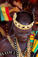Ghana, Accra, 2007. A parade of kings marked a graceful ending to Ghana's Independence Day festivities.