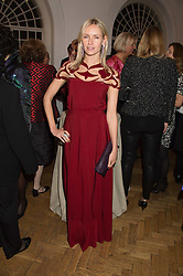 NADYA ABELA at a gala dinner to celebrate 15 Years of mothers2mothers hosted by Annie Lennox held at One Marylebone, 1 Marylebone Road, London NW1on 3rd November 2015.