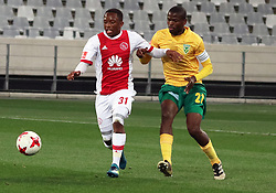 Ayanda Makua in action for Ajax Cape Town in the match between Ajax Cape Town and Golden Arrows at the Cape Town Stadium on Saturday, August 19, 2017.