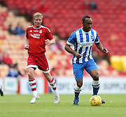 Chris O'Grady during the Pre-Season Friendly match between Aberdeen and Brighton and Hove Albion at Pittodrie Stadium, Aberdeen, Scotland on 26 July 2015.