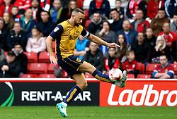 Aaron Wilbraham of Bristol City controls the ball - Mandatory by-line: Robbie Stephenson/JMP - 29/10/2016 - FOOTBALL - Oakwell Stadium - Barnsley, England - Barnsley v Bristol City - Sky Bet Championship