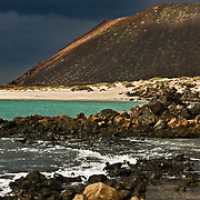 Fuerteventura Canary Island on Atlantic Ocean - Spain