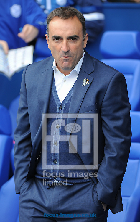 Carlos Carvalhal Manager of Sheffield Wednesday during the Sky Bet Championship match at Hillsborough, Sheffield<br /> Picture by Richard Land/Focus Images Ltd +44 7713 507003<br /> 03/10/2015