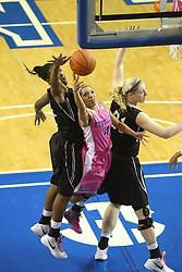 The University of Kentucky Women's basketball team hosted Vanderbilt Monday, Feb. 20, 2012 at Memorial Coliseum in Lexington.