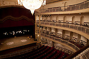 Porto Alegre_RS, Brasil...Theatro Sao Pedro. Na foto sala de espetaculos...Sao Pedro theater. Main facade. In the photo spectacles room...Foto: LUIZ FELIPE FERNANDES / NITRO