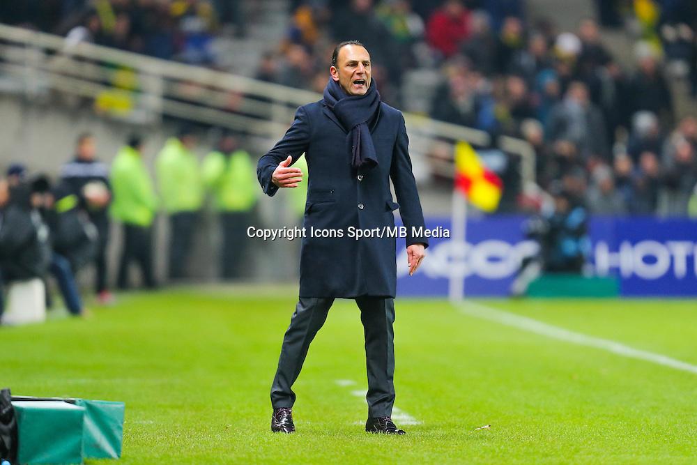 Michel DER ZAKARIAN  - 20.01.2015 - Nantes / Lyon  - Coupe de France 2014/2015<br /> Photo : Vincent Michel / Icon Sport